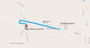 Bill Rice Ranch Directions